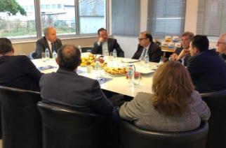 Συνάντηση του Δημάρχου Αλεξανδρούπολης Γιάννη Ζαμπούκη με τον Υφυπουργό Ανάπτυξης και Επενδύσεων