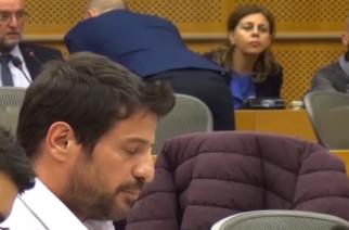 ΒΙΝΤΕΟ: Γελάει το πανελλήνιο με την ακαταλαβίστικη ομιλία Γεωργούλη στην Ευρωβουλή για το χρυσό