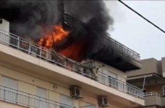 Αλεξανδρούπολη: Νεκρός από πυρκαγιά στην παραλιακή οδό – Ένας στην εντατική απ' τις αναθυμιάσεις