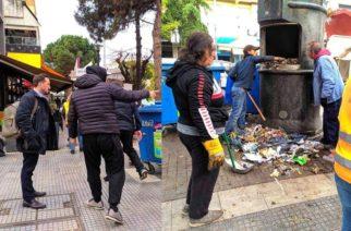 Αλεξανδρούπολη: Κοντά στους εργαζόμενους καθαριότητας του δήμου Αλεξανδρούπολης σήμερα Χριστούγεννα, ο δήμαρχος Γιάννης Ζαμπούκης