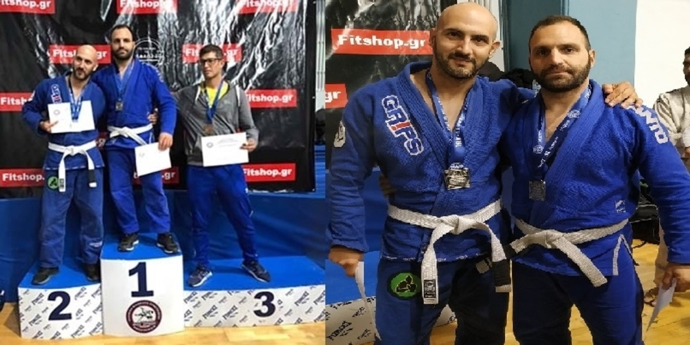 Χρυσό και ασημένιο μετάλλιο η ομάδα Alexandroupolis bjj team στο Διεθνές Πρωτάθλημα Brazilian jiu-jitsu της Αθήνας