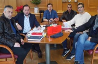 Συνάντηση με τον δήμαρχο Αλεξανδρούπολης Γιάννη Ζαμπούκη είχε η Ένωση Συνοριακών Φυλάκων Έβρου