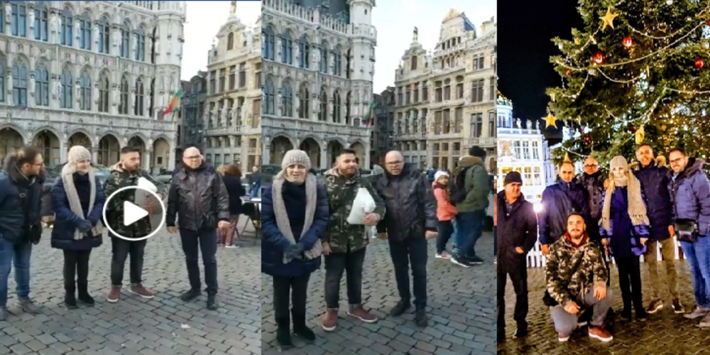 "Video: Το θρακιώτικο συγκρότημα ""Ακριτικός Ήχος"" τραγουδάει στην φημισμένη πλατεία ""Γκραν-Πλας"" των Βρυξελλών"