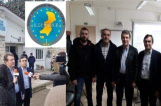 Συνάντηση με τον υπουργό Μιχάλη Χρυσοχοίδη οι Συνοριοφύλακες Έβρου και οι Αστυνομικοί της Ορεστιάδας