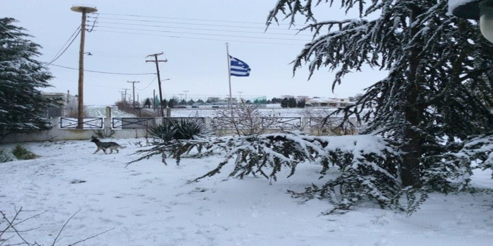 Έρχονται χιόνια αύριο Τρίτη βράδυ στον Έβρο και σε χαμηλά υψόμετρα