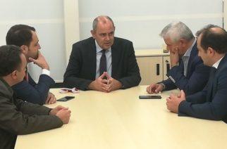 Νοσηλευτική Διδυμοτείχου: Σε συνάντηση λίγων λεπτών με τον υφυπουργό Β.Διγαλάκη, δεν λύνονται τα πολλά προβλήματα