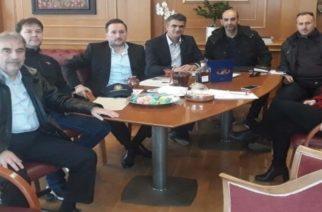 Ταμέλη της Διεθνούς Ένωσης Αστυνομικών (Ι.P.A.)-Τοπική Διοίκηση Αλεξανδρούπολης, στον δήμαρχο Γ.Ζαμπούκη