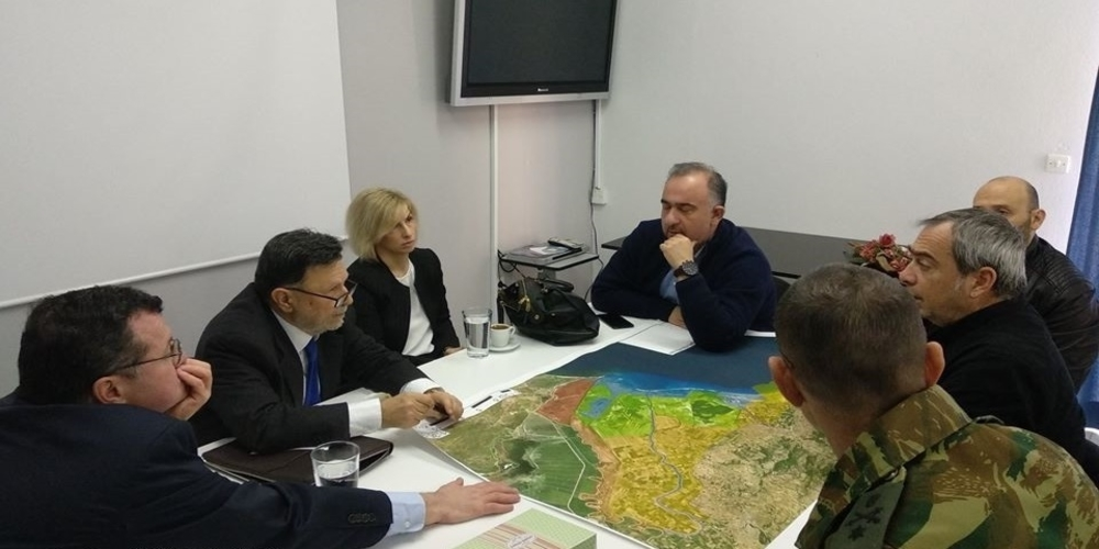 Επίσκεψη και ενημέρωση του υφυπουργού Περιβάλλοντος Δημήτρη Οικονόμου στο Δέλτα του Έβρου