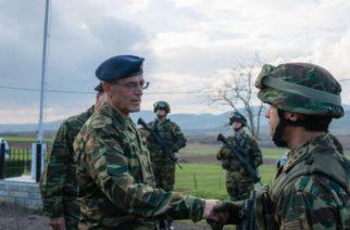 Ο Αρχηγός ΓΕΣ Γ. Καμπάς σε μονάδες του Έβρου και της Σαμοθράκης (φωτορεπορτάζ)