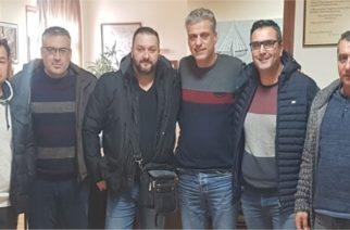 Συναντήσεις των Συνοριοφυλάκων Έβρου με δήμαρχο τον Ορεστιάδας Βασίλη Μαυρίδη και Μητροπολίτη κ.Δαμασκηνό