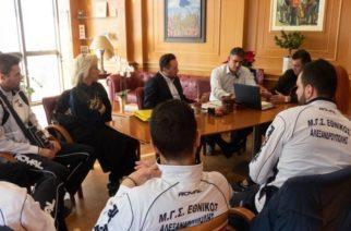 Λύσεις στα προβλήματα του βόλεϊ συζήτησαν δήμαρχος Αλεξανδρούπολης και διοίκηση ΤΑΑ, αθλητές Εθνικού