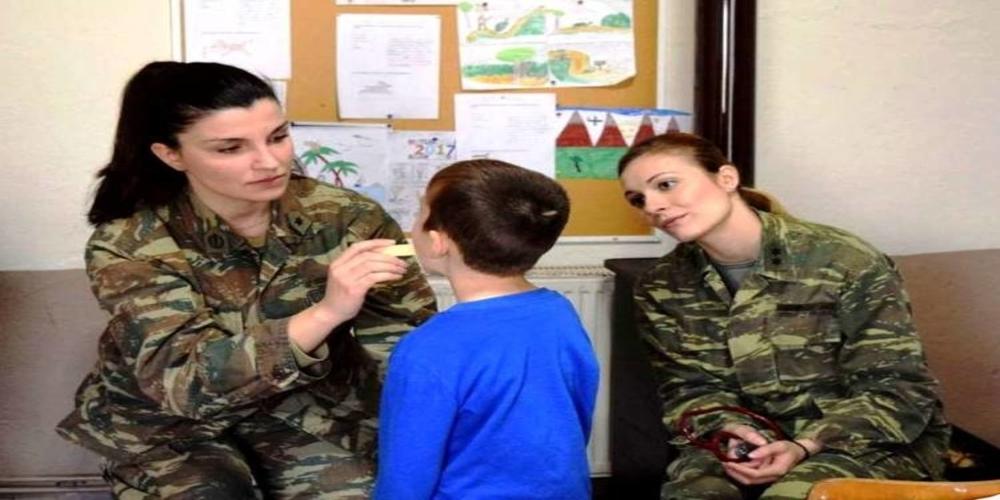 Δωρεάν ιατρικές εξετάσεις από Στρατιωτικό Κλιμάκιο στην Άνθεια