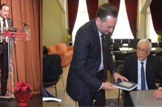 Έπλεξε το εγκώμιο του δημάρχου Γιάννη Ζαμπούκη με κολακευτικά λόγια ο Πρόεδρος της Δημοκρατίας!!! (ΒΙΝΤΕΟ)