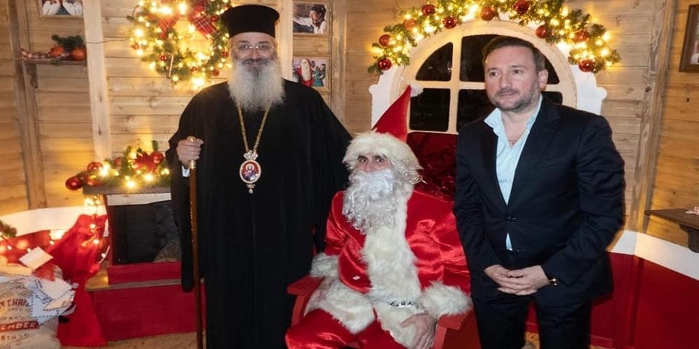 Αλεξανδρούπολη: Ο Μητροπολίτης κ.Άνθιμος στο Πάρκο των Χριστουγέννων (φωτορεπορτάζ)