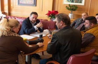 Με την Συντεχνία αρτοποιών Ν. Έβρου συναντήθηκε ο δήμαρχος Αλεξανδρούπολης Γιάννης Ζαμπούκης