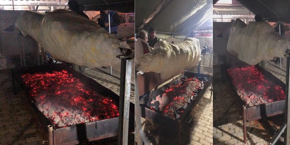 Φέρες: Σήμερα απόγευμα στις 6 μ.μ, το μοσχάρι των 300 κιλών θα έτοιμο προς… απόλαυση!!!