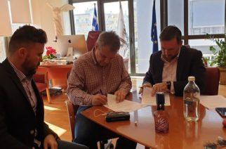 """Αλεξανδρούπολη: Υπογράφηκε η σύμβαση, ξεκινάει τον Φεβρουάριο το έργο """"Ανάδειξη – Αξιοποίηση των ιστορικών αποθηκών του ΟΣΕ"""""""