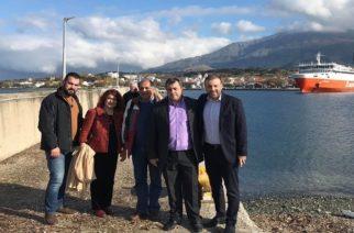 Σαμοθράκη: Επίσκεψη-αυτοψία της διοίκησης του ΟΛΑ στα λιμάνια Καμαριώτισσας, Θέρμων
