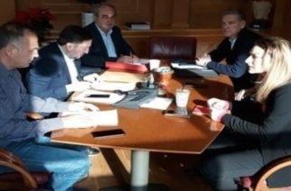 Συνάντηση του Δημάρχου Αλεξανδρούπολης Γιάννη Ζαμπούκη για θέματα αγροτικής ανάπτυξης