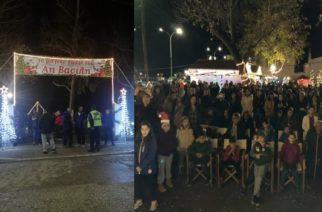 Σαμοθράκη: Ζει μαγικές, Χριστουγεννιάτικες στιγμές για πρώτη φορά, με το Μαγικό Χωριό του Αη Βασίλη