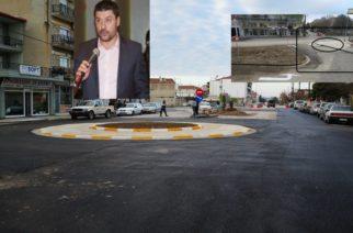 """Ορεστιάδα: Παραδέχονται ότι είναι… προβληματικός ο κυκλικός κόμβος – Αρχοντίδης: Τα μεγάλα οχήματα να τον """"καβαλούν"""" (ΒΙΝΤΕΟ)"""
