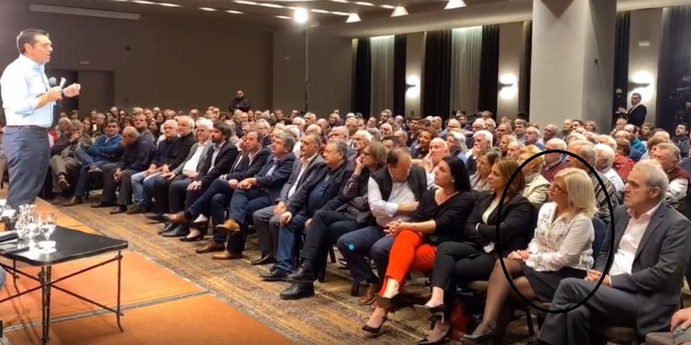 Αλεξανδρούπολη: Η πρώην βουλευτής του ΠΑΣΟΚ Ελένη Τσιούση στη συγκέντρωση διεύρυνσης του Αλέξη Τσίπρα