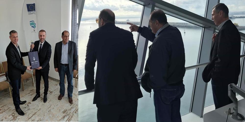 Επίσκεψη και συζητήσεις της διοίκησης του ΟΛΑ στο Burgas της Βουλγαρίας