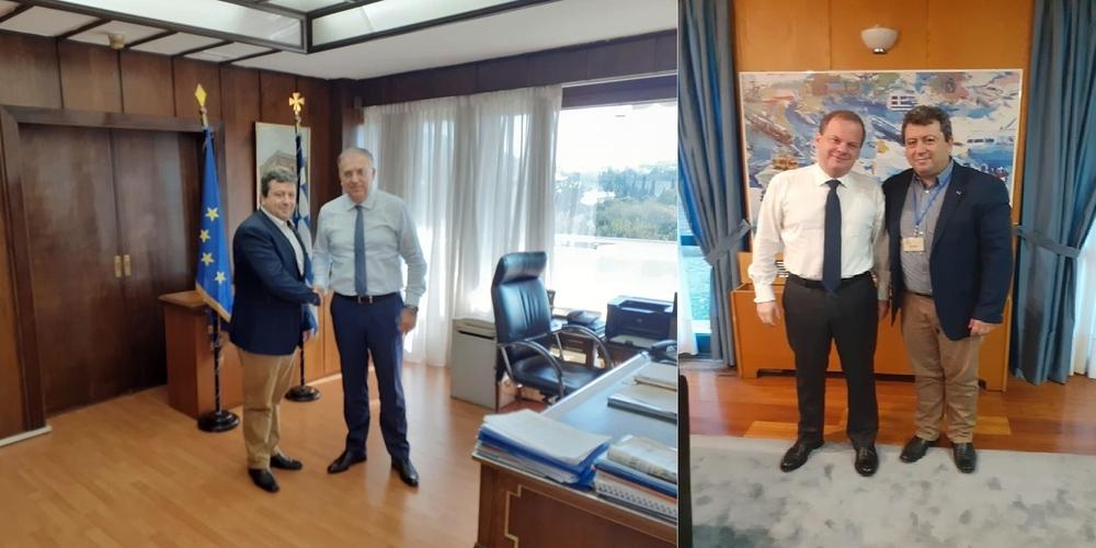 Σαμοθράκη: Πήρε… σβάρνα τα υπουργεία και πάλι ο δήμαρχος Νίκος Γαλατούμος για θέματα του νησιού