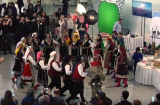 "Video: Πως είδαν οι επισκέπτες την παρουσία του Δήμου Αλεξανδρούπολης στον Διεθνή Αερολιμένα ""Ελευθέριος Βενιζέλος"""