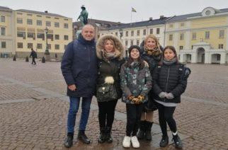 Το Δημοτικό Σχολείο Παλαγίας στο Trollhattan και Gothenburg της Σουηδίας
