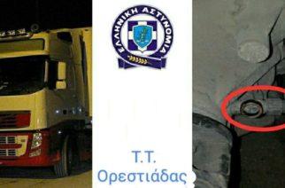 """Ορεστιάδα: Οι έλεγχοι στα φορτηγά έφεραν 490 παραβάσεις και """"πειραγμένους"""" ταχογράφους"""