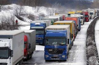 Έβρος: Απαγόρευση κυκλοφορίας φορτηγών και βαρέων οχημάτων, από  πρωί Κυριακής ως μεσάνυχτα Δευτέρας