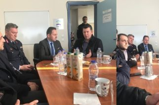 Στους Συνοριοφύλακες Φερών και την Αστυνομική Διεύθυνση Αλεξανδρούπολης βρέθηκε ο Κυβερνητικός Εκπρόσωπος Στέλιος Πέτσας