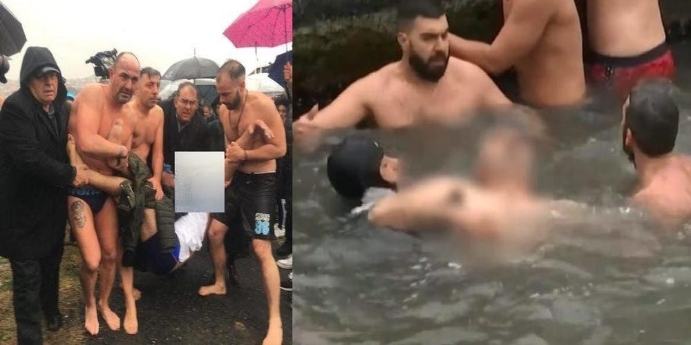 Ορεστιάδα: Επέστρεψε απόλυτα υγιής, ο άνδρας που λιποθύμησε στην Κωνσταντινούπολη όταν βούτηξε για τον σταυρό