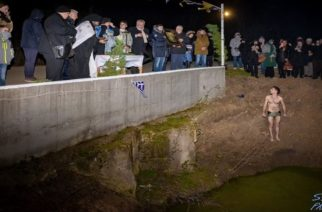 ΒΙΝΤΕΟ+φωτό: Στη Νέα Βύσσα έγινε χθες βράδυ ο καθαγιασμός των υδάτων