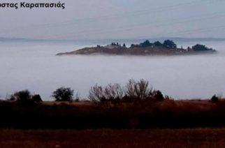 """Η ομίχλη """"κατάπιε"""" σήμερα το Διδυμότειχο – Εκπληκτική φωτογραφία!!!"""