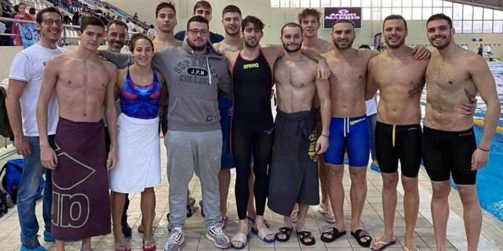 Κορυφαίοι Έλληνες κολυμβητές, επέλεξαν την Αλεξανδρούπολη για την χειμερινή προετοιμασία τους