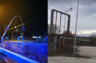 Αλεξανδρούπολη: Παρέσυραν φανάρια, πινακίδες, δέντρα οι θυελλώδεις άνεμοι, χωρίς ευτυχώς τραυματισμούς (Video)
