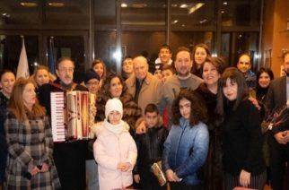 Οι Αρμένιοι της Αλεξανδρούπολης γιόρτασαν χθες Χριστούγεννα και Θεοφάνεια μαζί, ψάλλοντας τα κάλαντα (ΒΙΝΤΕΟ)