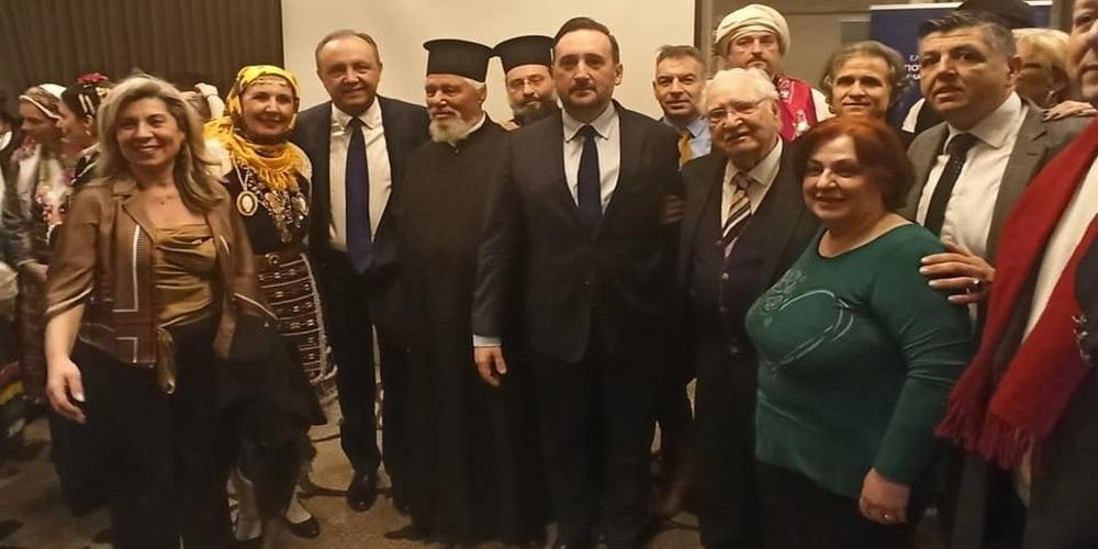 Αθήνα: Στην εκδήλωση για τα 100 χρόνια απελευθέρωσης της Θράκης ο δήμαρχος Αλεξανδρούπολης Γιάννης Ζαμπούκης