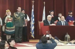 """Επίτιμος δημότης Διδυμοτείχου ο Πρόεδρος της Δημοκρατίας Προκόπης Παυλόπουλος: """"Δεν θα περάσει η προκλητική αυθαιρεσία της Τουρκίας"""""""