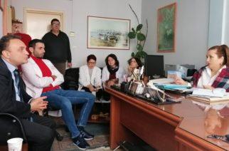 Το υποκατάστημα του ΕΦΚΑ και το Κέντρο Υγείας της Αλεξανδρούπολης επισκέφθηκε ο Σταύρος Κελέτσης
