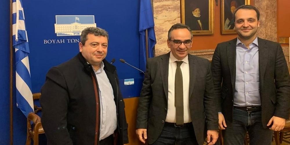 Προβλήματα και ελλείψεις του Κ.Υ.Σαμοθράκης έθεσε ο δήμαρχος Νίκος Γαλατούμος στον Υφυπουργό Υγείας Ν.Κοντοζαμάνη