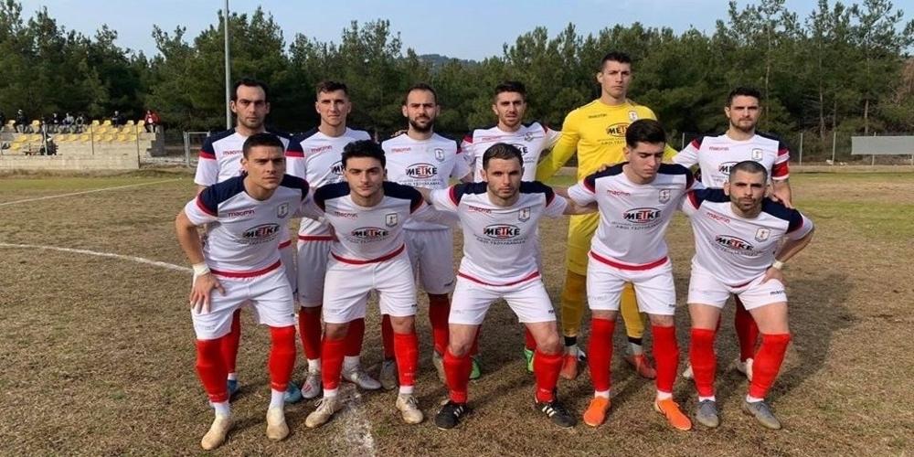 """Γ' εθνική: """"Βήμα"""" παραμονής η Ένωση Αλεξανδρούπολης στην Θάσο, με γκολ του έμπειρου Δημήτρη Κομεσίδη"""