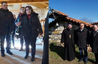 Διδυμότειχο: Ο Γενικός Γραμματέας υπουργείου Πολιτισμού επισκέφθηκε τους Μεταβυζαντινούς Ναούς Παλιουρίου, Μεταξάδων και Αλεποχωρίου