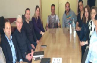 Συνάντηση για την ασφαλή φύλαξη του Π.Γ Νοσοκομείου Αλεξανδρούπολης είχε ο Διοικητής Βαγγέλης Ρούφος