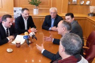 Αλεξανδρούπολη: Συνάντηση του δημάρχου Γιάννη Ζαμπούκη με τον Υφυπουργό Μακεδονίας -ΘράκηςΘεόδωρο Καράογλου
