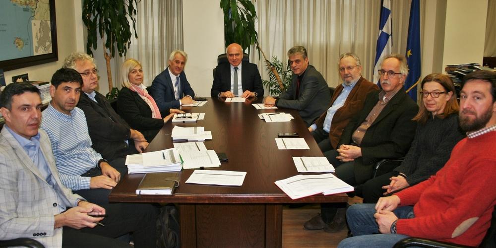 Σύσκεψη για την ορθήσυλλογή καιολοκληρωμένηεπεξεργασίατων απορριμμάτωνστην ΑΜΘ συγκάλεσε ο Περιφερειάρχης