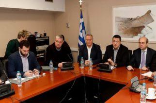 Μέτιος: Φυσικό αέριο, απορρίμματα, εξοικονομώ κατ' οίκον στη συνάντηση με τον υπουργό Κωστή Χατζηδάκη