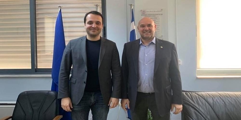 Για την έλλειψη οδηγών ασθενοφόρων στο Κ.Υ Δικαίων ενημέρωσε τον Πρόεδρο του ΕΚΑΒ ο Χρήστος Δερμεντζόπουλος
